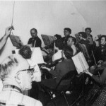 Kansas City Civic Orchestra in 1961, conductor Hugo Vianello.